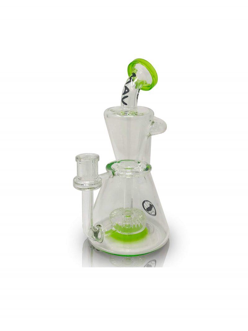 Mav Glass Santa Monica Slit Puck Recycler