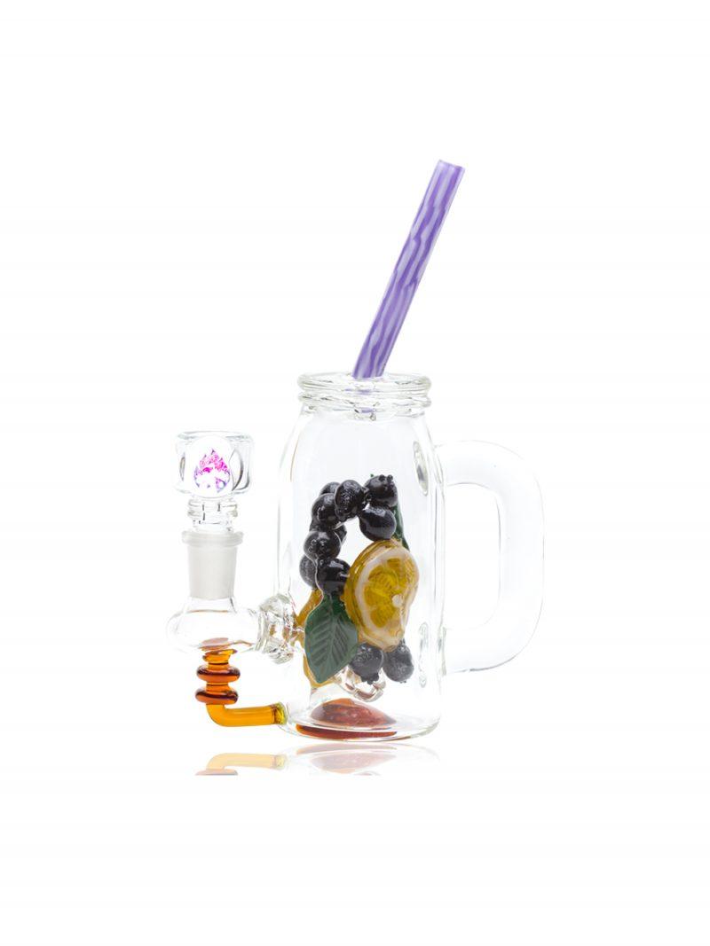 Empire Glass Blueberry Orande Detox Rig