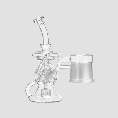 Dr. Dabber Switch Sidewinder Recycler Glass Attachment